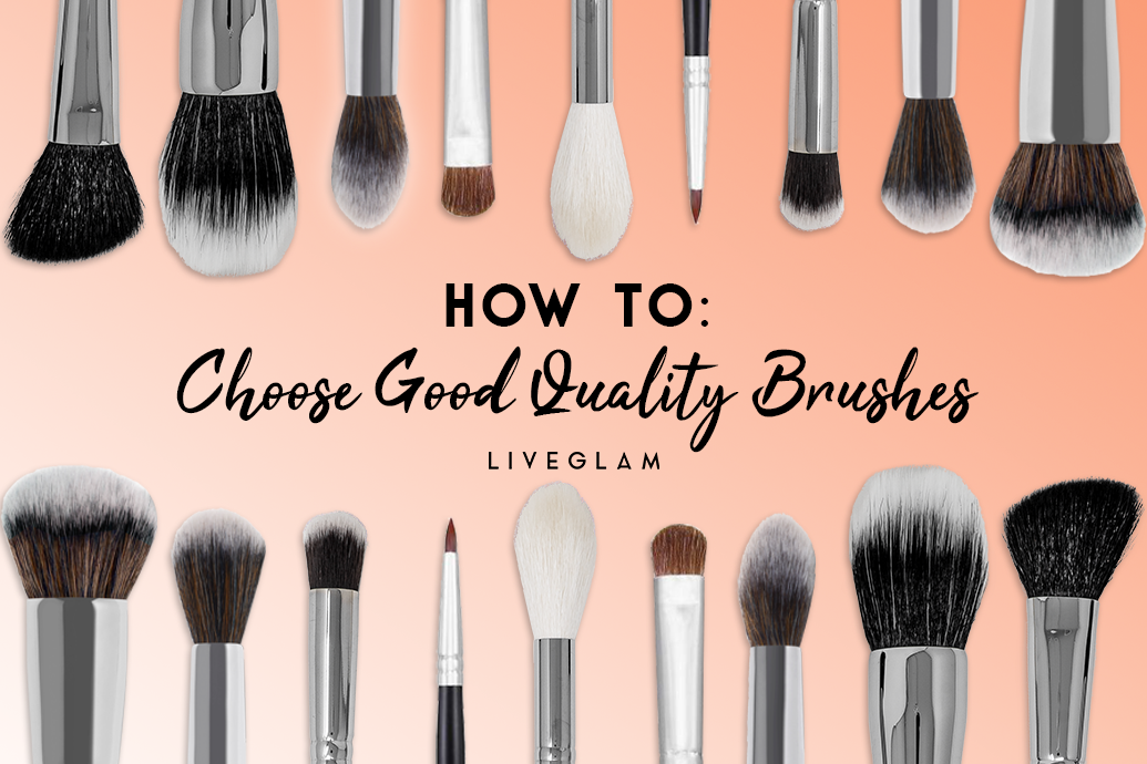 How to choose good quality makeup brushes