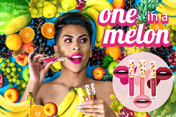 "Our July 2019 LiveGlam KissMe Lippies are ""One in a Melon""!"