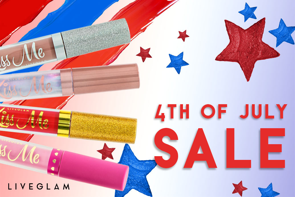 LiveGlam 4th of July sale
