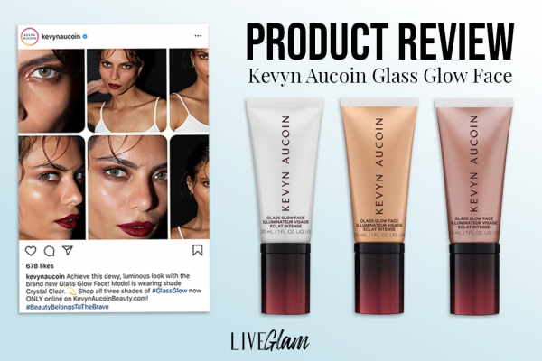 Kevyn Aucoin Glass Glow Face Highlighter Review