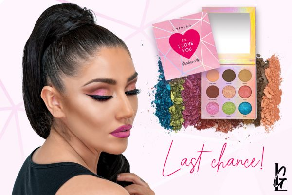 1 Week Left to Get Our P.S. I Love You Palette!