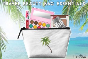 travel beauty bag essentials