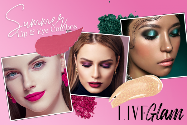 6 Summer Eyeshadow and Lipstick Combinations You Must Try