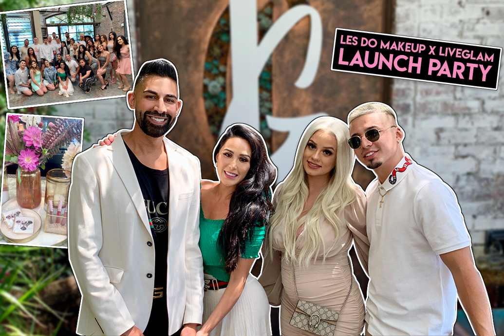 Les Do Makeup x LiveGlam Love Collection Lippies Launch Party