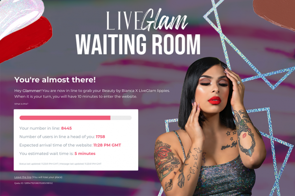 How our LiveGlam Waiting Room Works