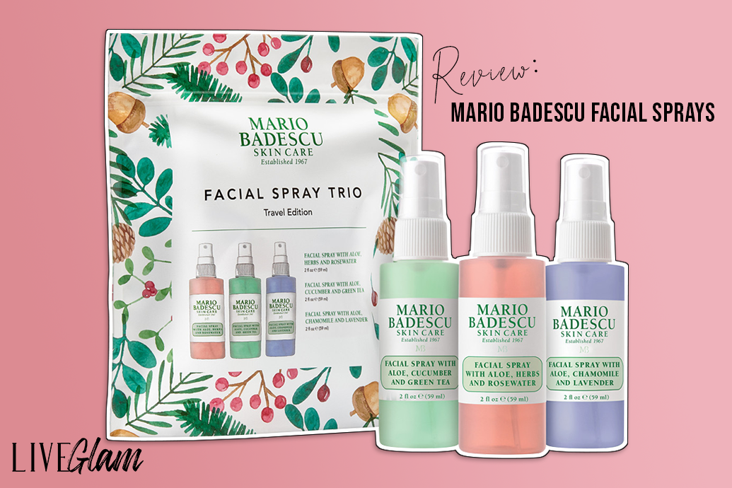Mario Badescu Facial Sprays Review Liveglam