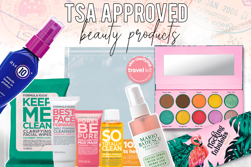 TSA Approved Beauty Products
