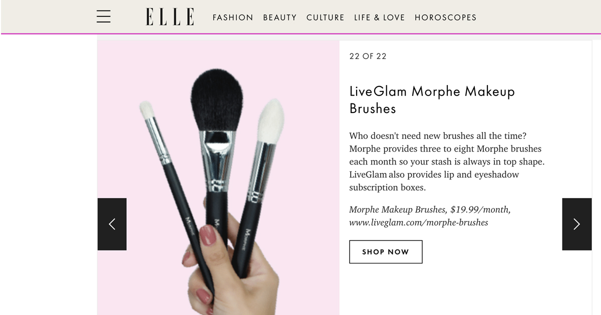 Best Makeup Brush Subscription