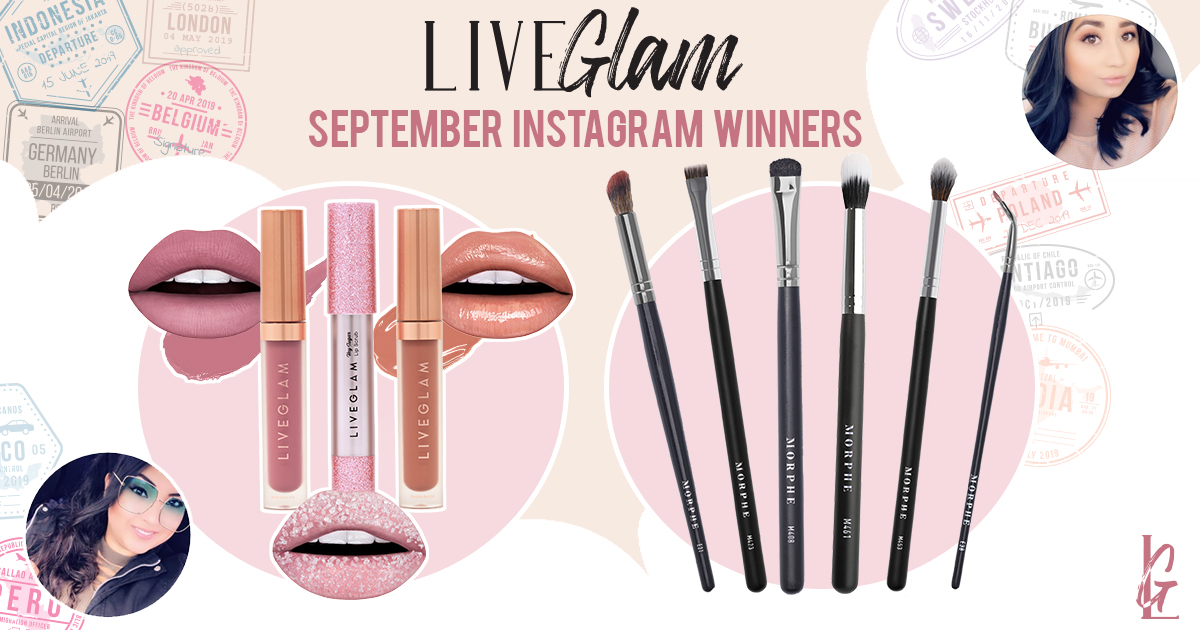 September 2019 #LiveGlamFam Giveaway Winners
