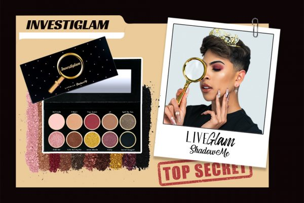 "Create Killer Looks with our ""Investiglam"" ShadowMe Palette"
