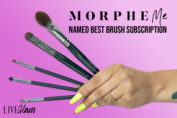 MorpheMe Named Best Makeup Subscription Box for Brushes