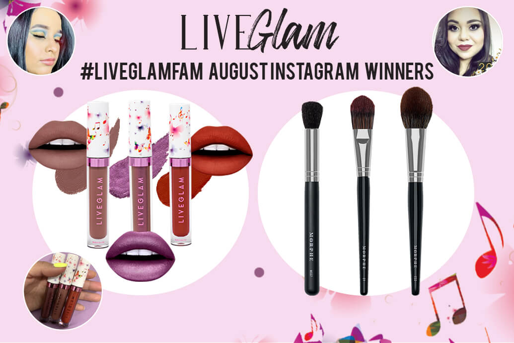 August 2019 #LiveGlamFam Giveaway Winners