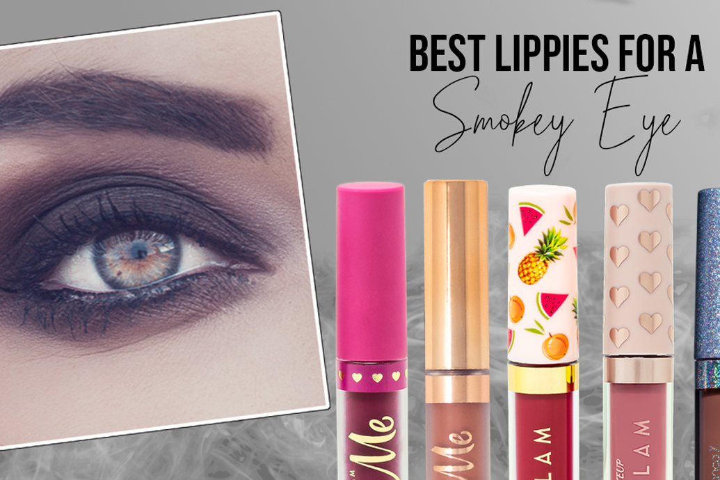 What Lip Colors Go Best with Smokey Eyes