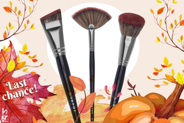 Last Call for LiveGlam October 2019 MorpheMe Brushes