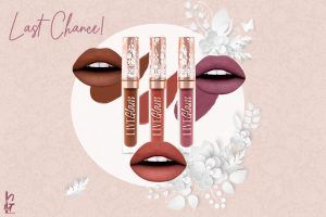 LiveGlam November 2019 KissMe Lippies