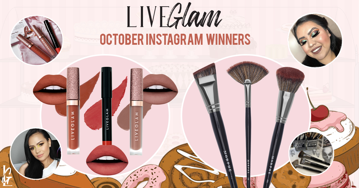 October 2019 #LiveGlamFam Giveaway Winners