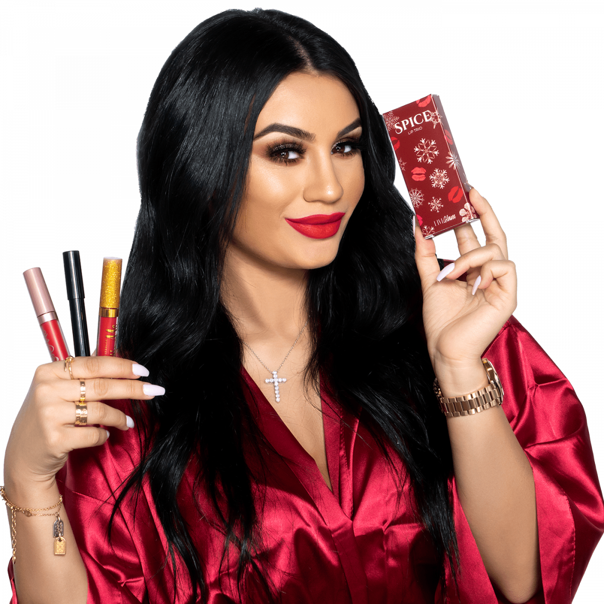 LiveGlam Spice Lippie Holiday Collection 2019