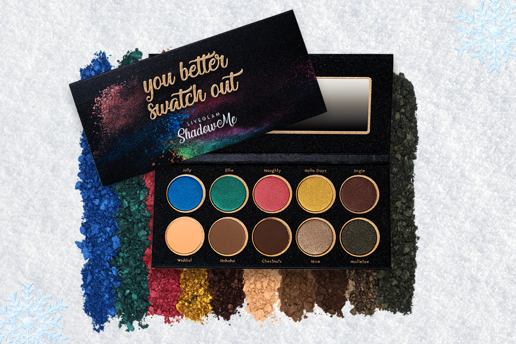 LiveGlam You Better Swatch Out ShadowMe Palette
