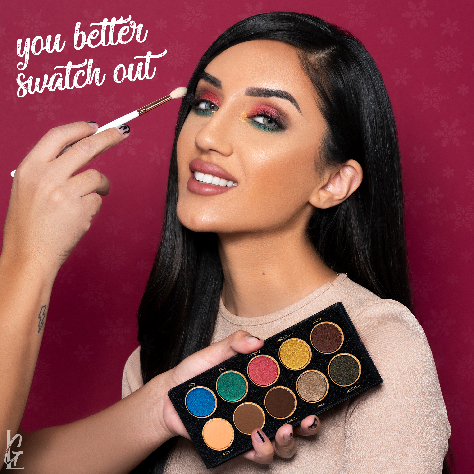 """You Better Swatch Out"" with our New ShadowMe Palette!"