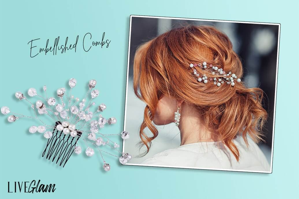 How to Wear Embellished Combs