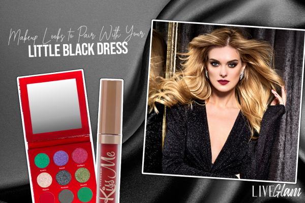 Best Makeup Looks to Pair with a Black Dress