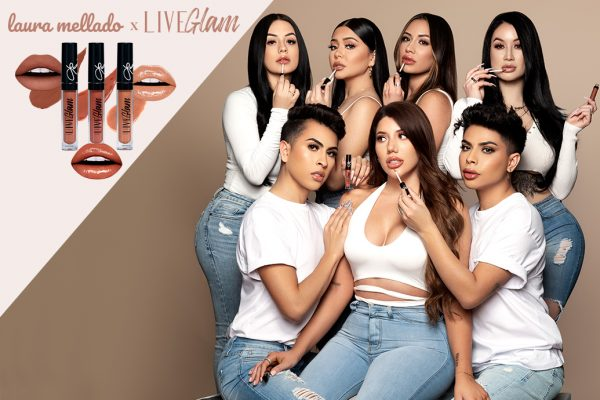 *SOLD OUT* Laura Mellado x LiveGlam KissMe Collaboration