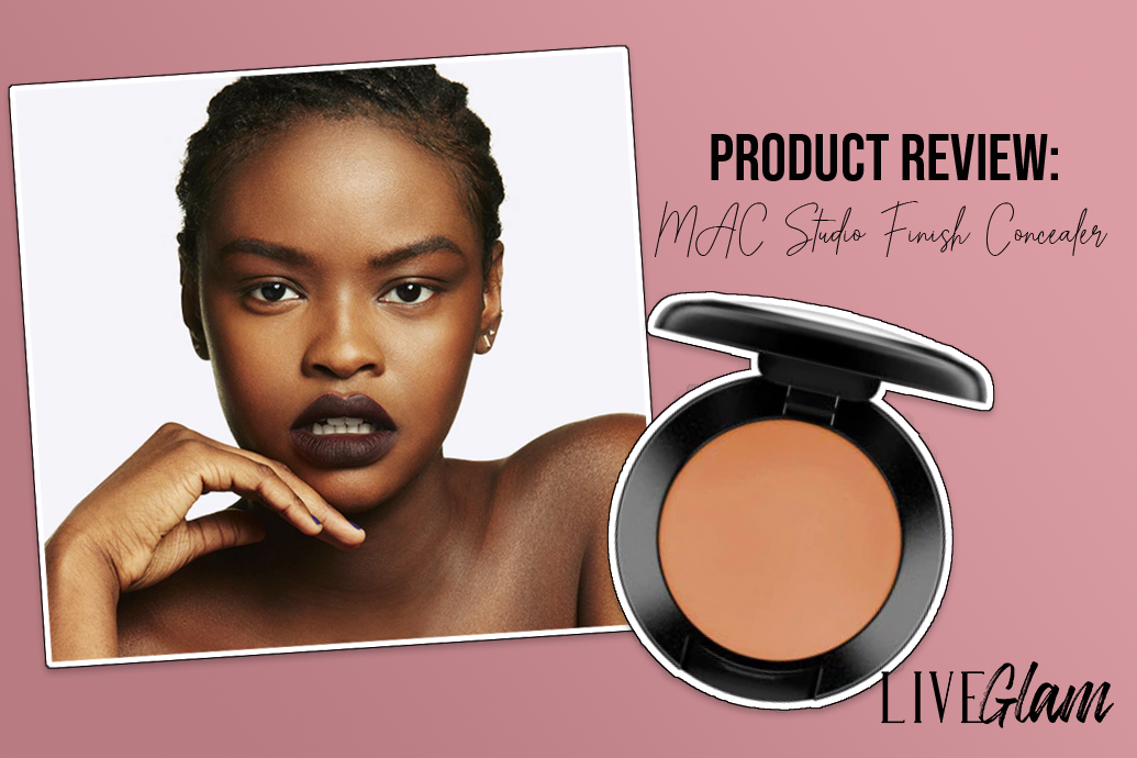 MAC Studio Finish SPF 35 Concealer Review