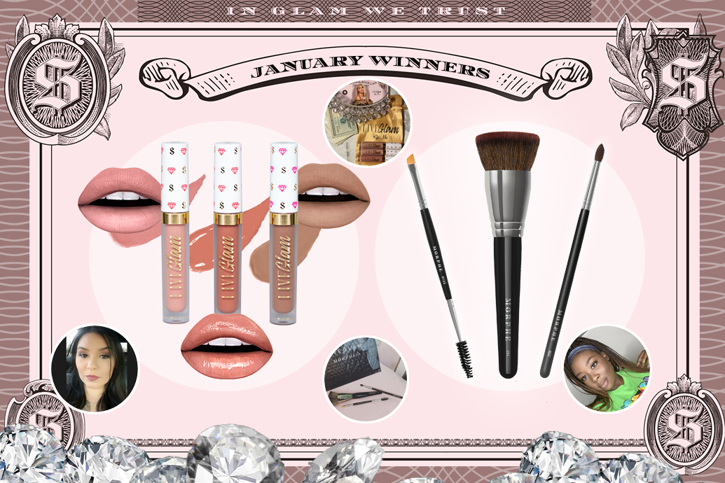 January 2020 LiveGlam Winners