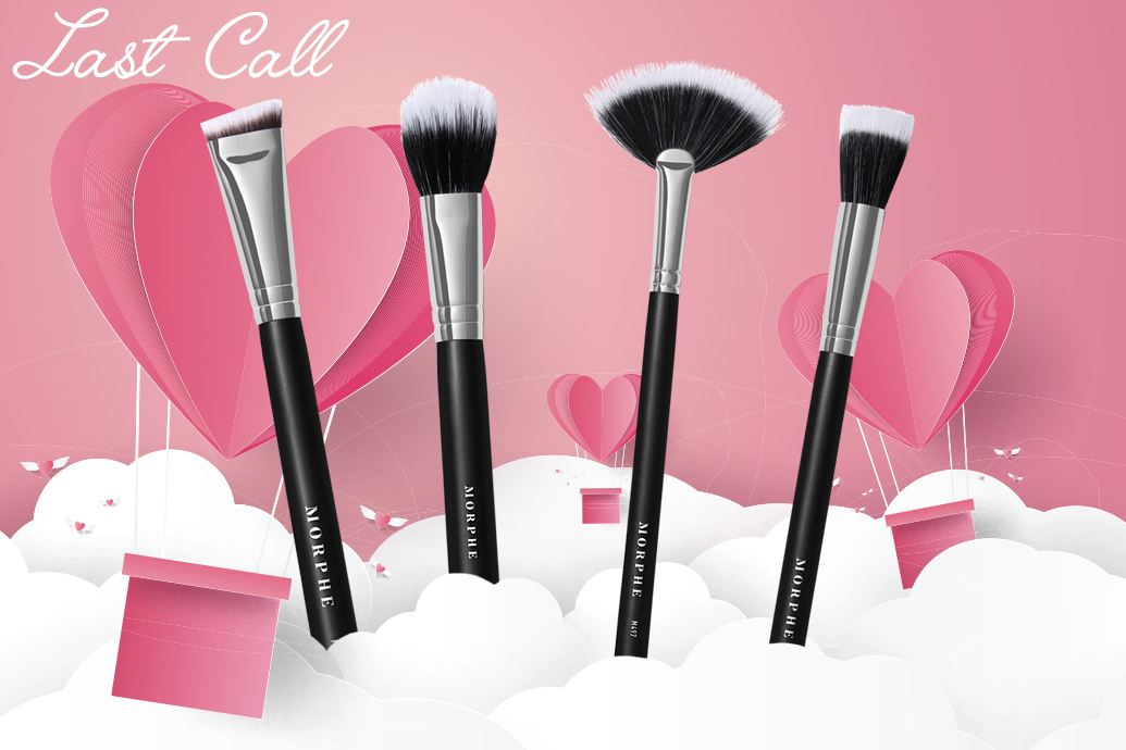 Last Call LiveGlam February 2020 MorpheMe Brushes