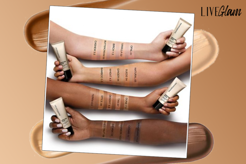 Bare Minerals Complexion Rescue Swatches
