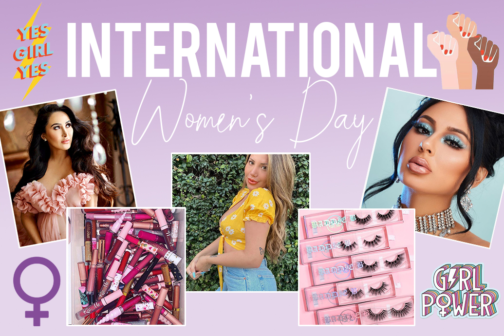 International Womens Day Beauty Products