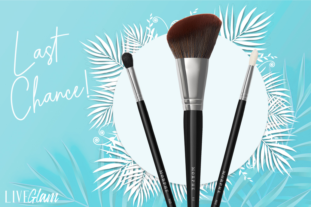 Last Chance LiveGlam March 2020 MorpheMe Brushes