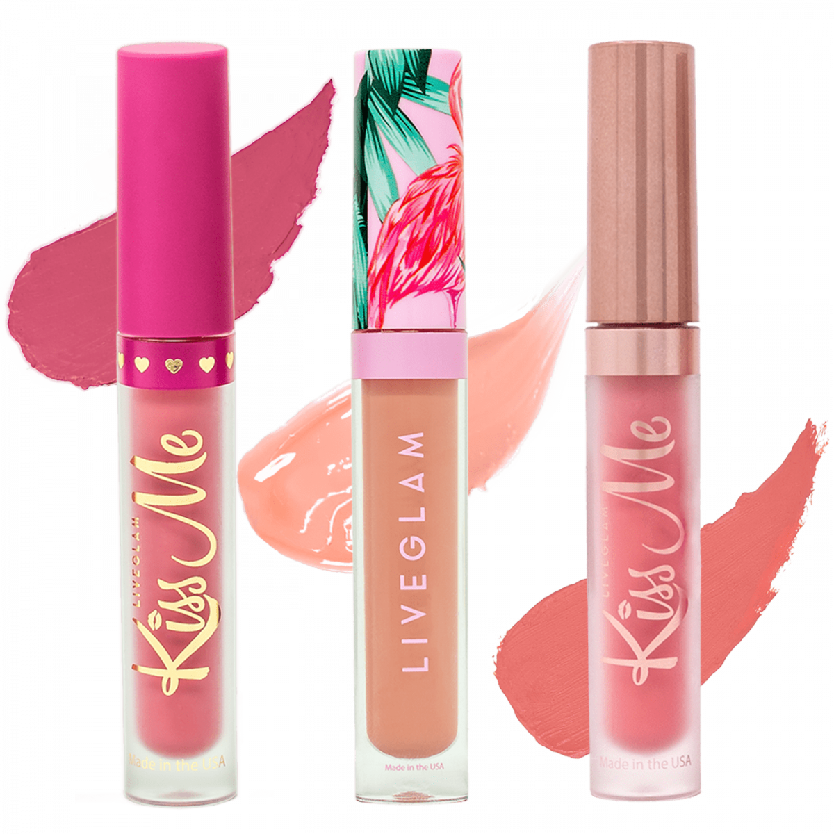 LiveGlam Sprung Bundle lipstick collection