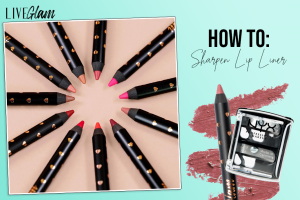 how to sharpen lip liners