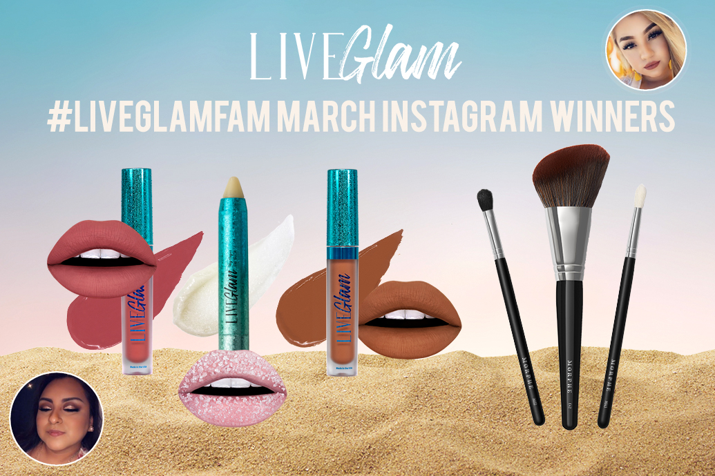 LiveGlam March 2020 Giveaway Winners