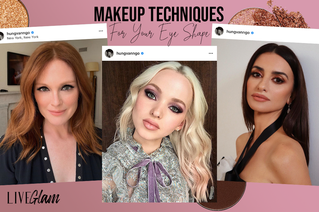 Makeup techniques for your eye shape