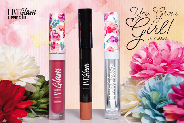 You Grow, Girl! LiveGlam July Lippie Club Collection 2020