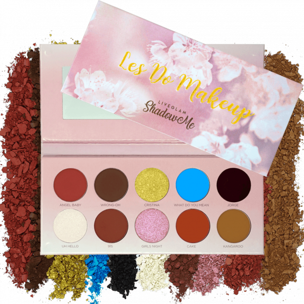 LiveGlam Les Do Makeup eyeshadow palette for sale