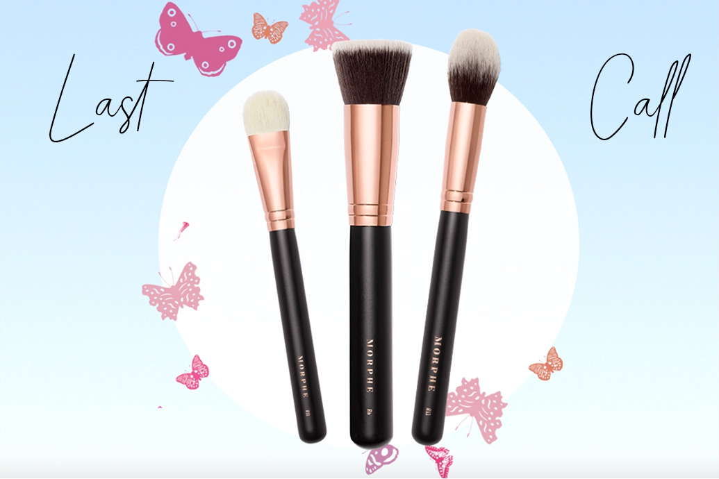 last chance for LiveGlam June 2020 Morphe brushes