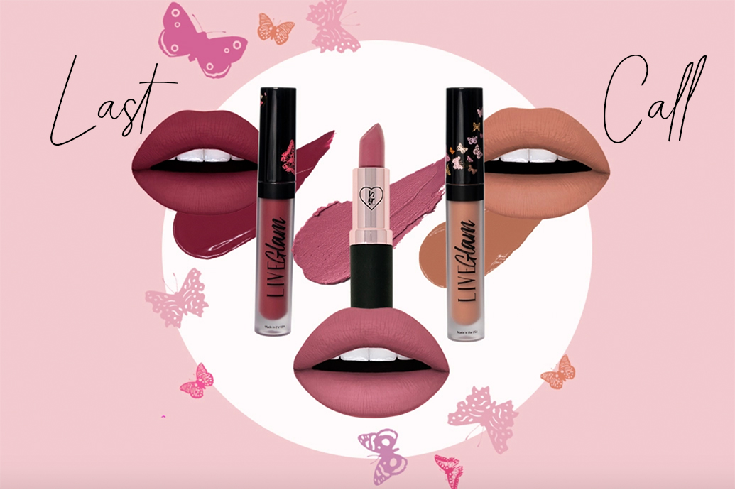 last chance for LiveGlam June 2020 lippie club collection