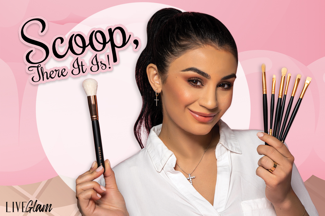 LiveGlam Brush Club Scoop There It Is August 2020 collection