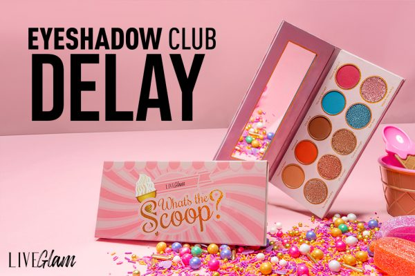 Eyeshadow Club Palette Delay