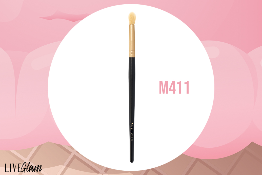 Morphe tapered crease brush
