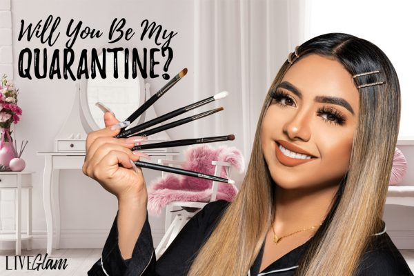 LiveGlam Will You Be My Quarantine September 2020 brush club