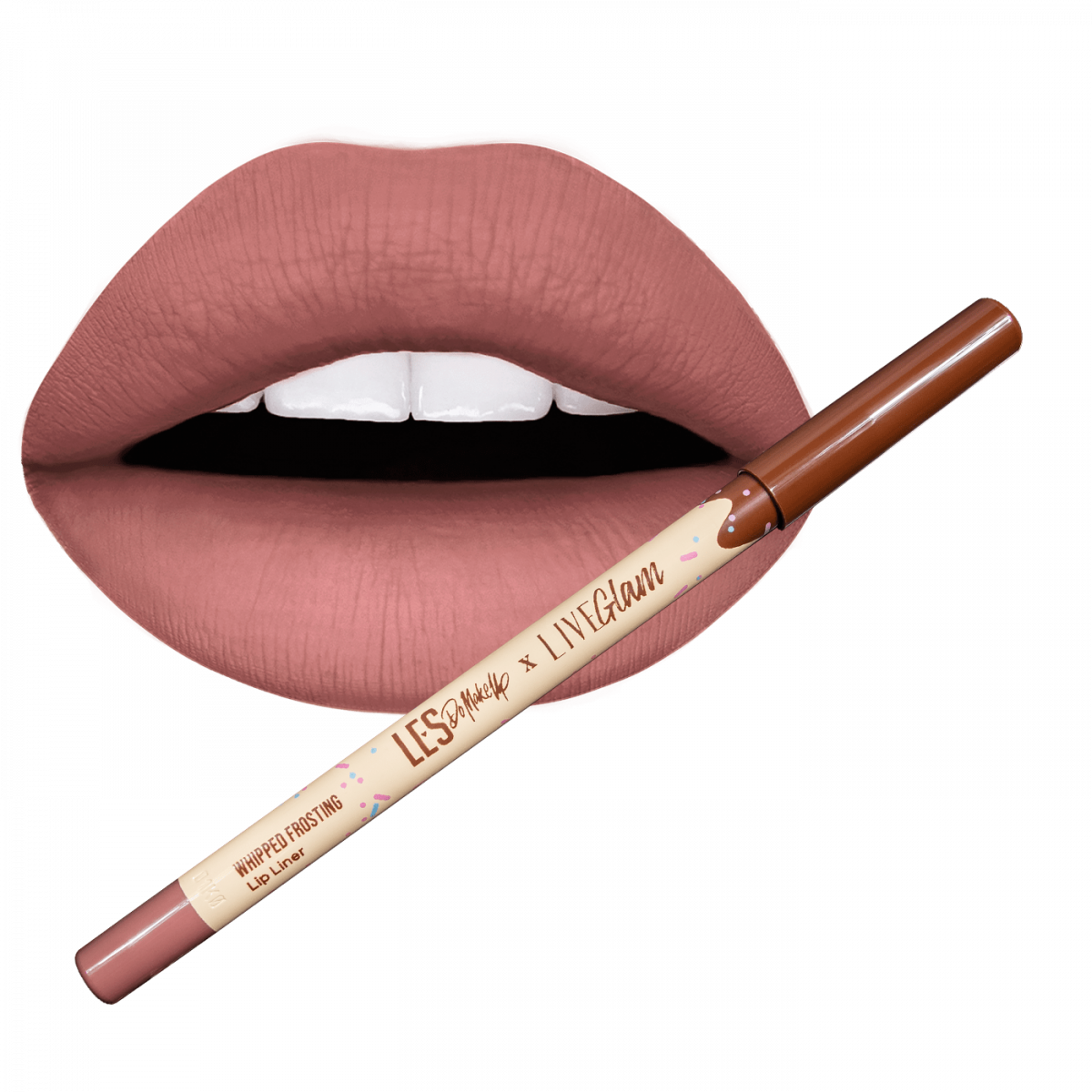 Les Do Makeup lip liner whipped frosting