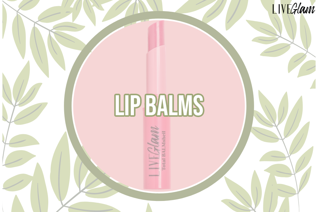 LiveGlam lip balms ingredient list