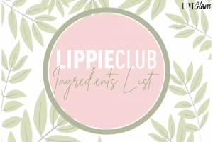 LiveGlam lippie club ingredients list