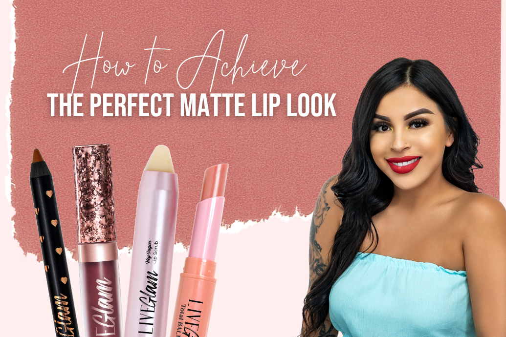 how to achive the perfect matte lip look
