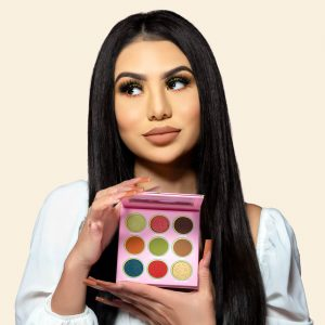 LiveGlam eyeshadow palette Taco Tuesday march 2021