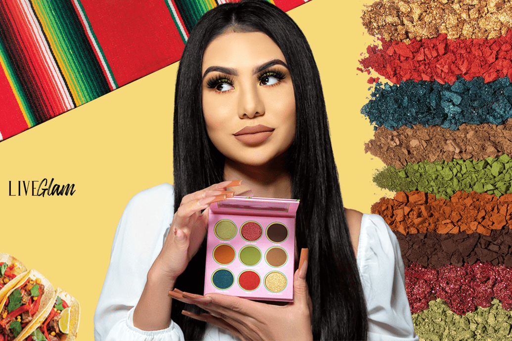 LiveGlam Eyeshadow palette taco tuesday march 2021 collection
